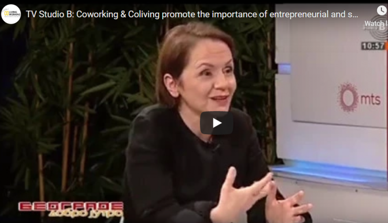 Coworking & Coliving promote the importance of entrepreneurial and self-employment